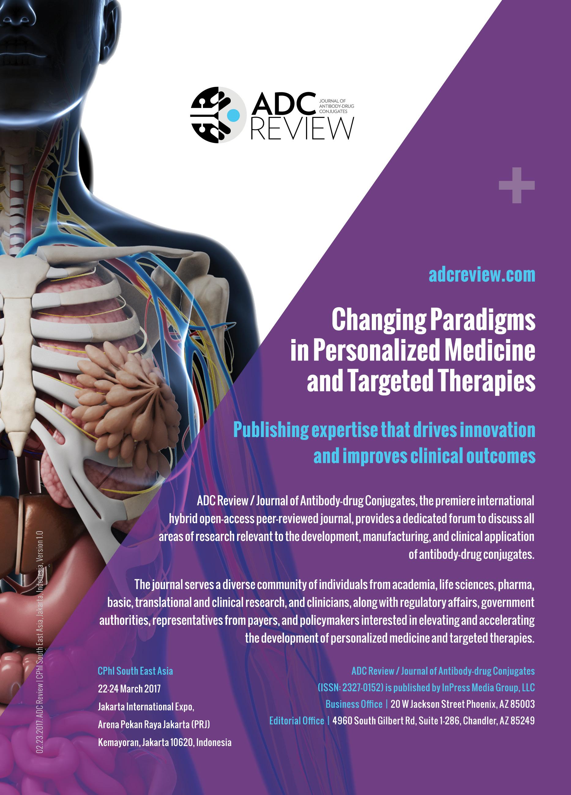 ADC Review, Journal of Antibody-drug Conjugates
